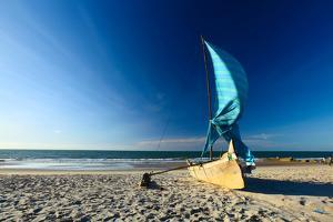 Traditional Malagasy Sail Boat. Morondava, Madagascar by Dudarev Mikhail