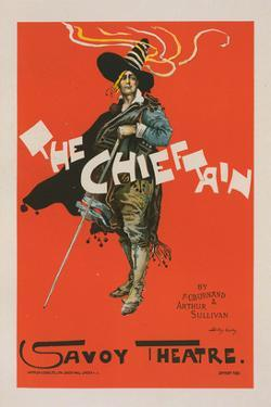 The Chieftain - Savoy Theatre by Dudley Hardy