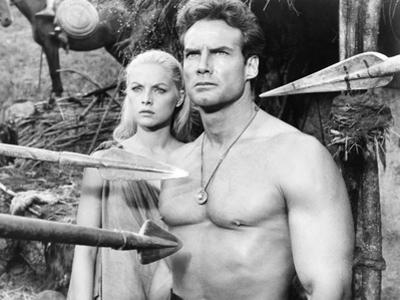Duel of the Titans, (Aka Romolo E Remo), from Left: Virna Lisi, Steve Reeves, 1961