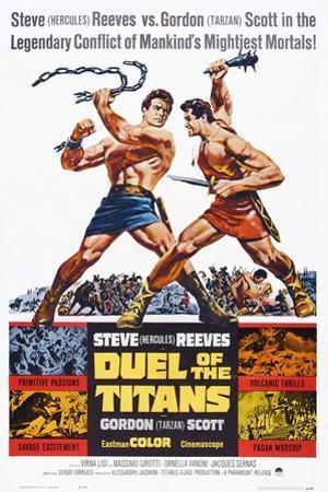 Duel of the Titans, (aka Romolo E Remo), Steve Reeves, Gordon Scott, 1961