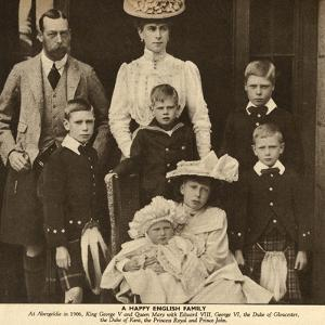 Duke and Duchess of York with their Six Children