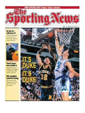 Duke Blue Devils' Christian Laettner - National Champions - April 13, 1992