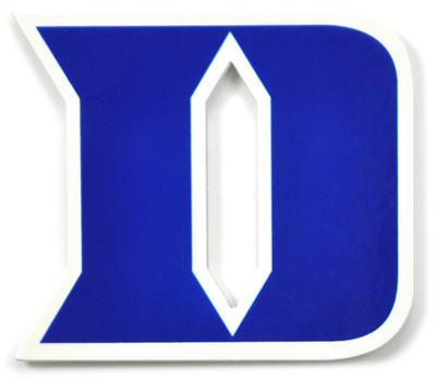 Duke Blue Devils Iron D Steel Magnet