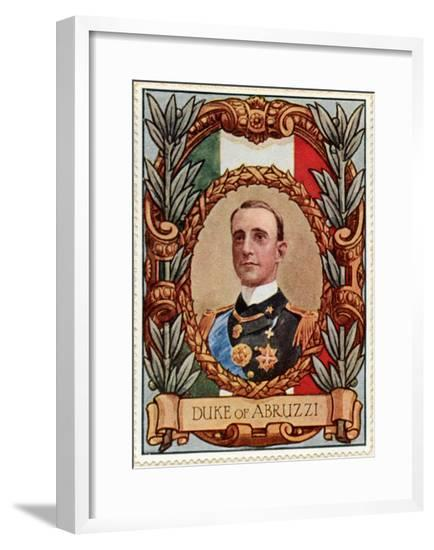 Duke of Abruzzi, Stamp--Framed Giclee Print