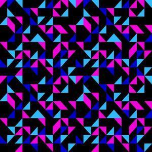 Seamless Retro Geometric Pattern by dukepope