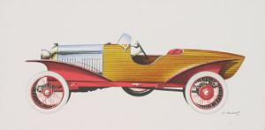 Skiff Acajou, c.1923 by Dumont