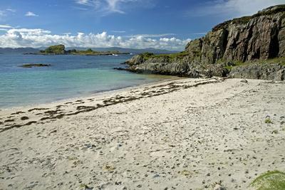 Beach Opposite Islet of Eilean a Ghaill