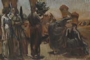 Lemon Gatherers by Duncan Grant