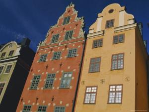 17th Century Houses in Stor Torget (Stor Square), Old Town, Stockholm, Sweden, Scandinavia, Europe by Duncan Maxwell