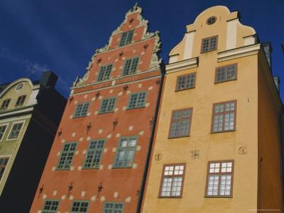 17th Century Houses in Stor Torget (Stor Square), Old Town, Stockholm, Sweden, Scandinavia, Europe