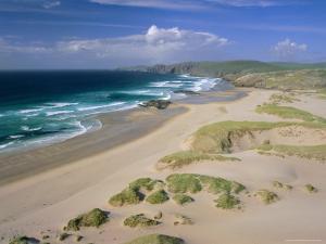 Beach, Sandwood Bay, Highland Region, Scotland, UK, Europe by Duncan Maxwell
