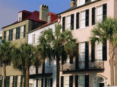 Early 19th Century Town Houses, Charleston, South Carolina, USA