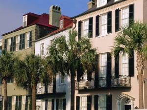 Early 19th Century Town Houses, Charleston, South Carolina, USA by Duncan Maxwell