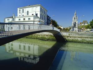 Footbridge Leading into Grand Parade, O'Sullivan's Quay, Cork City, Ireland by Duncan Maxwell
