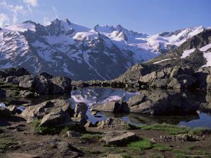 Lago (Lake) Del Loson, Gran Paradiso National Park, Near Val Nontey Valley, Valle d'Aosta, Italy by Duncan Maxwell