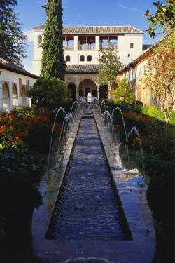 Palacios Nazaries, Alhambra, Spain by Duncan Maxwell