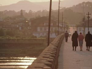 Ponte Do Lima, Limia River, Minho District, Portugal, Europe by Duncan Maxwell
