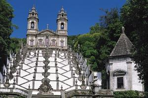 Santuario Do Bom Jesus Do Monte, Braga, Portugal by Duncan Maxwell