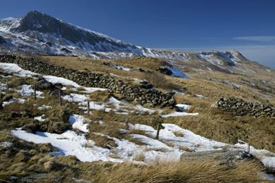 Summit of Cyfrwy on Left, 811M
