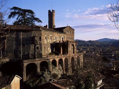 The 16th Century Castle, Castello Villadora, Valle Di Susa, Piemonte, Italy