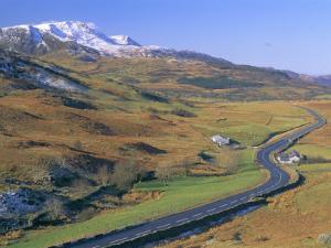 The Dinas Mawddwy to Dolgellau Road, Snowdonia National Park, Gwynedd, Wales, UK, Europe by Duncan Maxwell