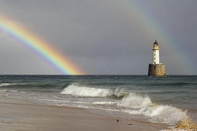 Rainbow And a Lighthouse