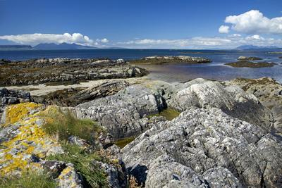West Coast of the Scottish Highlands Looking West Towards the Small Isles