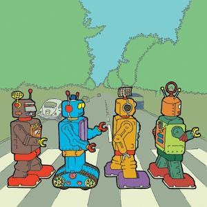 Abbey Road Bots by Duncan Wilson