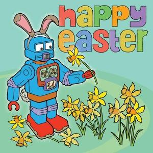 Easter Bunny Bot by Duncan Wilson