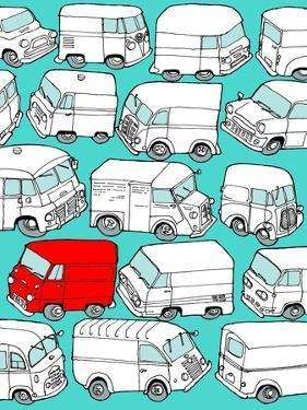 Odd Ones - Red Van by Duncan Wilson
