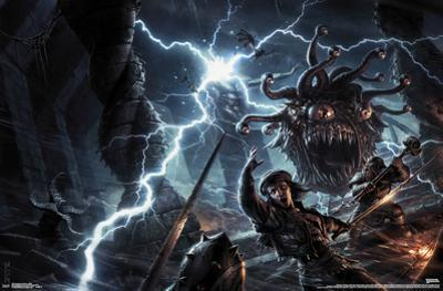 DUNGEONS AND DRAGONS - BATTLE