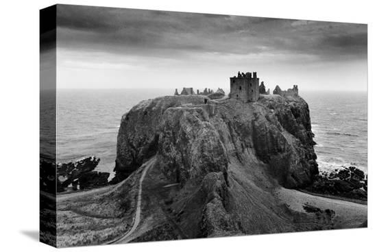 Dunnottar Castle, Scotland--Stretched Canvas Print