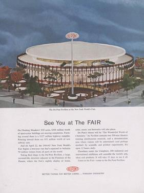 Dupont Pavilion at the New York World's Fair, Page from 'The Du Pont Magazine', 1964