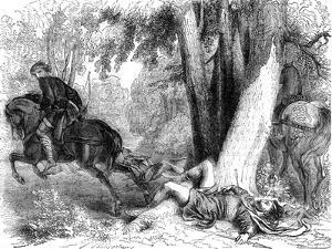 The Death of William Rufus, 1100 by Dupre