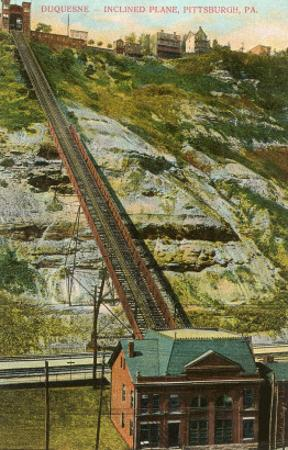 Duquesne Inlined Railway, Pittsburgh, Pennsylvania