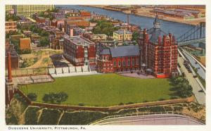 Duquesne University, Pittsburgh, Pennsylvania