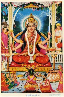 Durga, Vishnu