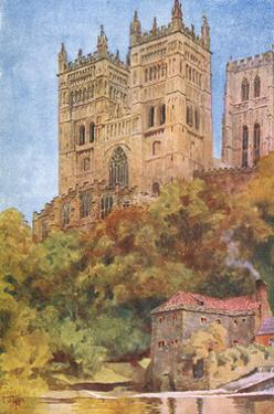 Durham, Cathedral 1909 by W Collins