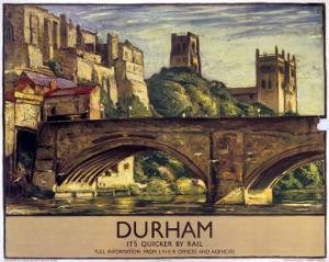 Durham, It's Quicker by Rail