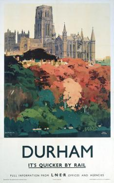 Durham Trees and Cathedral
