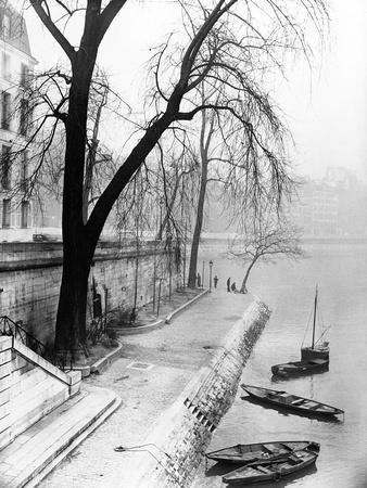 Along the Seine in Paris