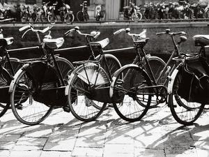 Bicycles in Amsterdam by Dusan Stanimirovitch