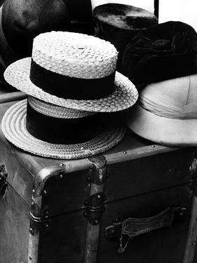 Hats on a Suitcase by Dusan Stanimirovitch