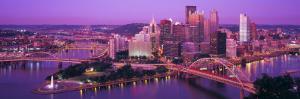 Dusk, Pittsburgh, Pennsylvania, USA