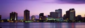 Dusk Skyline, New Orleans, Louisiana, USA