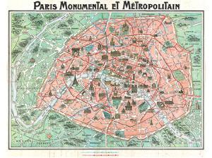 Paris Monumental & Metropolitain by Dutal