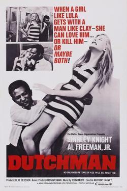 Dutchman, Top L-R: Shirley Knight, Al Freeman Jr., Bottom L-R: Al Freeman, Jr. Shirley Knight, 1967