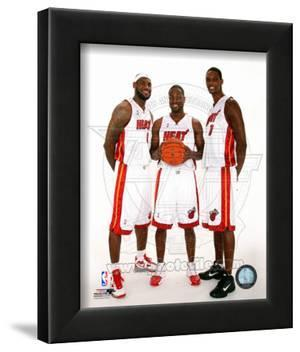 Dwyane Wade, LeBron James, &Chris Bosh 2010 Posed
