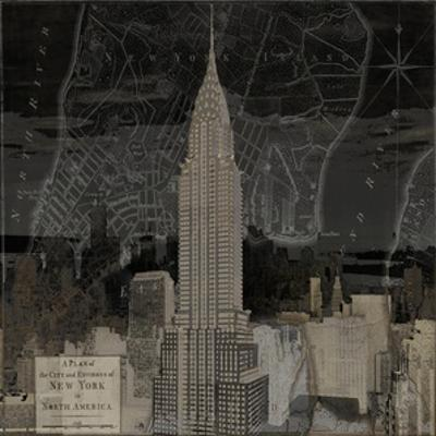 Vintage New York in Black II by Dylan Matthews