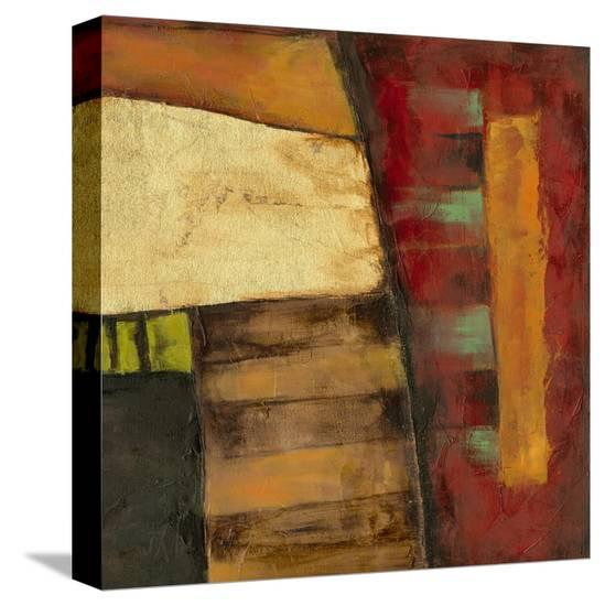 Dynamic Abstraction I-Jennifer Goldberger-Stretched Canvas Print